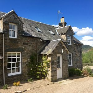 Photo for Tastefully upgraded traditional cottages, stunning location, walk to Aberfeldy