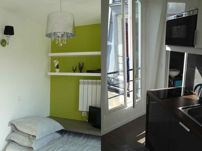 Photo for Small studio tastefully renovated - in the village of Batignolles