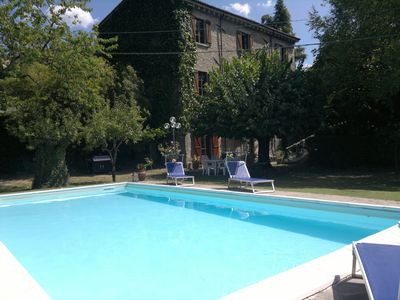 Photo for Beautiful renovated Tuscan Villa with private pool & garden - stunning views
