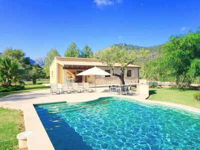 Photo for Catalunya Casas: Tranquil Villa Lena for 4 guests, 7km to Mallorca's beaches!