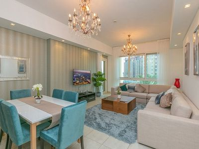 Photo for Stunning 2 BR in Marina Residence