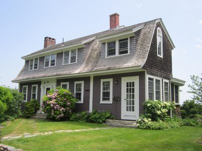 Photo for 1 Acre Oceanfront Home With rocky Beach On Pepperrell Cove, Kittery Point, Maine