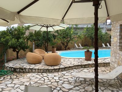 Photo for Stone luxurious Villa with a swimming pool