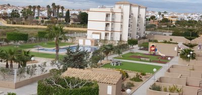 Photo for Punta Prima, Lovely Top Floor Apartment on R17 La Cinuelica