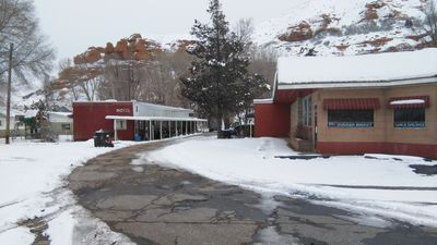Photo for 1960's roadside motel in mountain country, Summit County, Utah near Park City