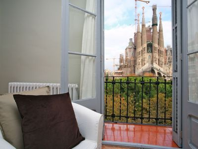 Photo for Apartment 840 m from the center of Barcelona with Internet, Air conditioning, Lift (992213)