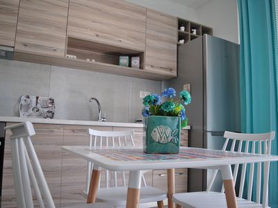 Photo for 1BR Apartment Vacation Rental in Kissamos