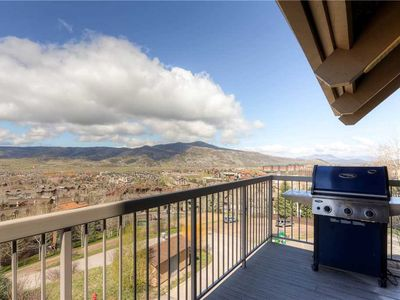 Photo for 2 Bedroom + Loft Mtn Condo w/Beautiful Summer Valley Views & Private Grill!