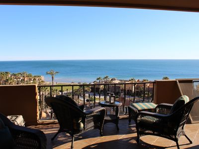 Photo for Breathtaking views **Great Value** @ luxurious Bella Sirena on Sandy Beach