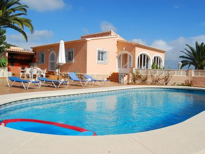 Photo for Pepe- sea view, private pool, chill out on spacious terrace