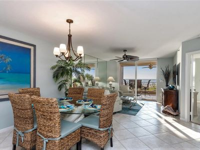 Photo for Newly Remodeled Beachfront Condo with Stunning Ocean Views, Private Cabana-106!