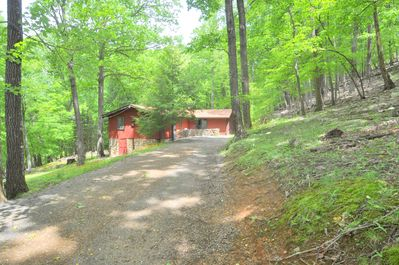 View of the Driveway.