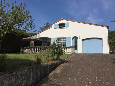 Photo for 3-star villa Royan Vaux sur mer - 4 bedrooms with garden - 900 m sea and beach