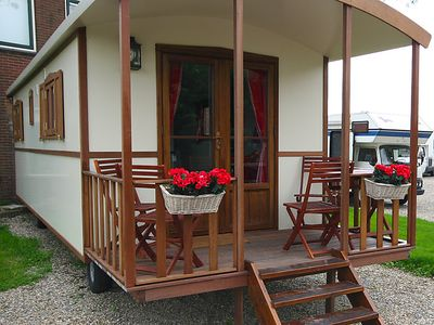Photo for Vacation home Camping de Grienduil  in Nieuwland, Zuid - Holland - 4 persons, 2 bedrooms