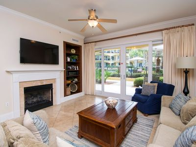 Photo for Adagio F-104   Poolside ~1st Floor! Scenic 30A!