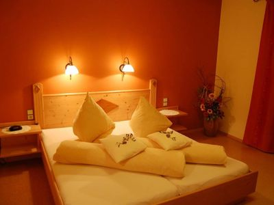 "Photo for Double room ""Relaxation"" with shower, WC - Grüblerhof - wellness holidays"