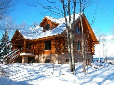 Photo for Vacation Log Home On Lake Superior - Please contact owner for available dates