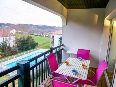 Photo for One bedroom Apartment, sleeps 4 in Bidart with Pool and WiFi