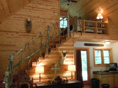 Photo for GREAT RATES $89/nt  4th nt FREE  Beautiful Cabin