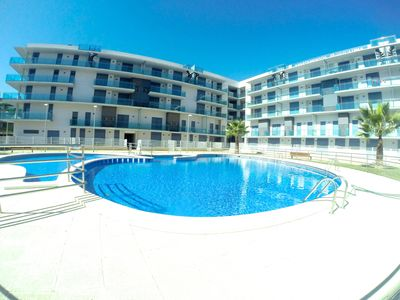 Photo for BEAUTIFUL NEW APARTMENT 50 METERS FROM THE BEACH