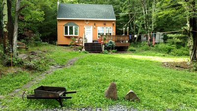 Photo for Cozy secluded Cabin NY