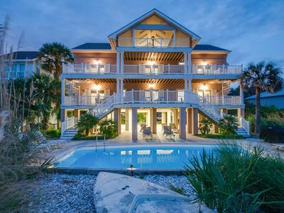 FUN & Beautiful Oceanfront Forest Beach Home w/ FREE Pool Heat Seasonally