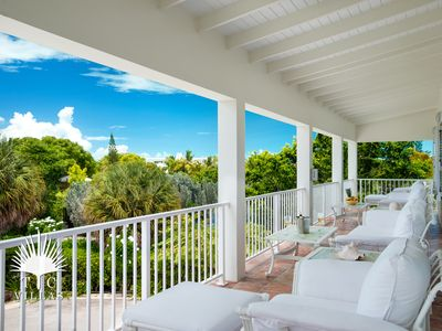 Photo for Reef Pearl Villa on Grace Bay Beach located in Prime Turtle Cove location