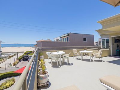 Photo for 4 Bed 3300 sq ft Hermosa Beach house 3 houses to STRAND!