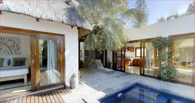 Photo for romantic villa 500m from the beach