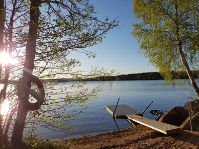 In the heart of Småland is this picture-perfect holiday home Bullerbü
