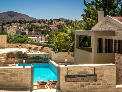 Photo for Phaistos villas, small scale luxury resort with 6 bedrooms and pool, south Crete