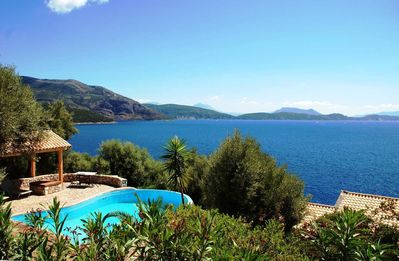 Photo for Villa Iremia - Located in Unique Southern Region of Lefkas with Sea Access