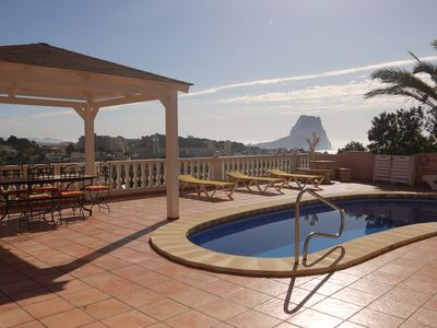 Photo for 4BR Villa Vacation Rental in Calpe