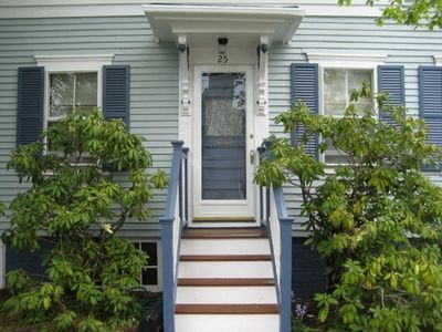 Photo for Charming, Private, Updated 1600SF 1860s West End Provincetown House and Garden