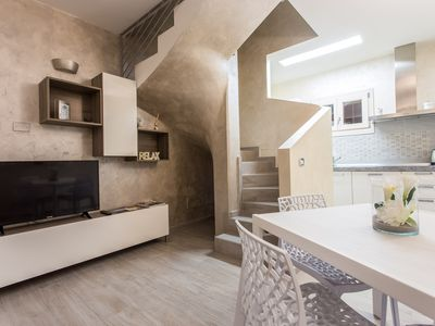 Photo for Stylish apartment with terrace - Apartment Luce