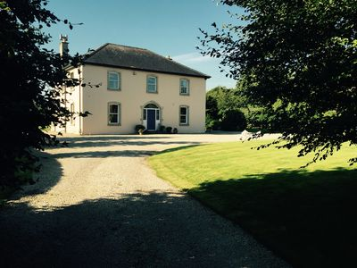Photo for Secluded Georgian style House Country-side Views – 30 mins from Dublin