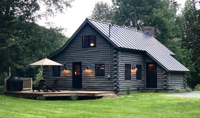 Photo for [KAB-IN] A Refined Log Cabin in Woodstock, Vermont