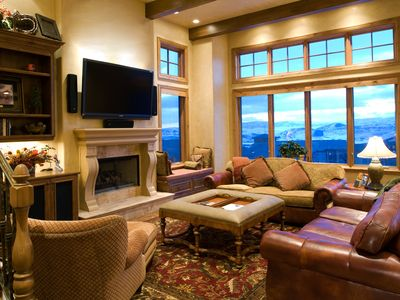 Photo for Luxury unit looking out above Canyons Village
