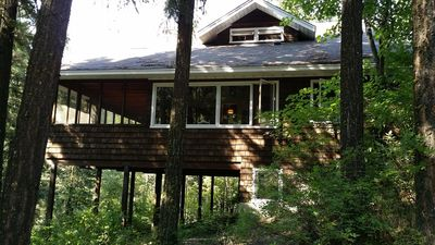Photo for Private multi-family home in the woods - sleeps 10