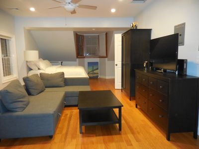 Photo for Crisp South End furnished apartment with lovely deck