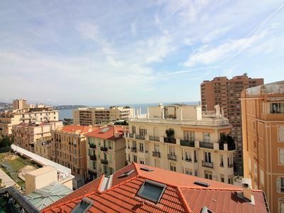 Photo for Monaco - Beautiful 4 room apartment - Sea view - Parking
