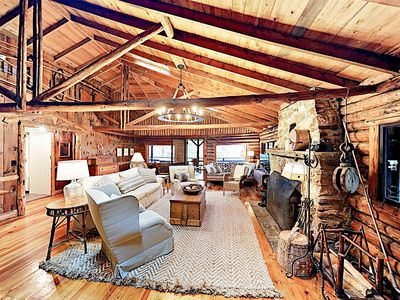 Photo for Fall Savings! Classic Waterfront 5BR Sprucewold Cabin overlooking Linekin Bay