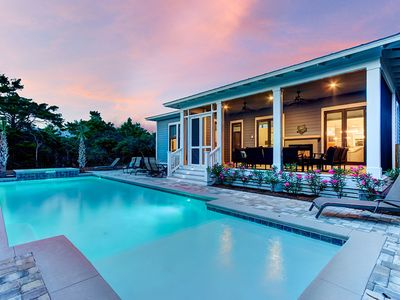 Photo for Gorgeous Vacation Home on 30A w/ Large Private Pool & Spa Tub!