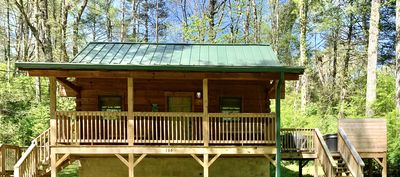 Green Door Cabin -  a secluded getaway in the heart of Townsend