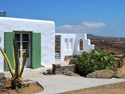 Photo for Boho House in Mykonos, with sea view, it can accommodate up to 7 people.