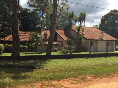 Photo for Charming house in Chapada Dos Guimaraes with ample green space