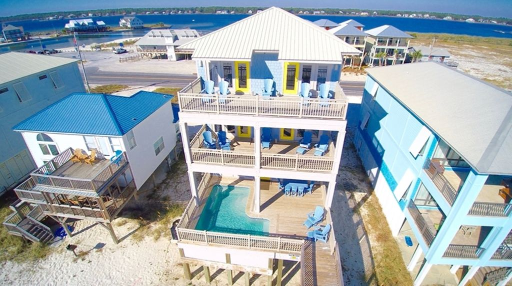 Beach front Home  Private Pool  Boardwalk to beach. STUNNING 8 BR BEACH HOUSE WITH HEATED POOL       VRBO