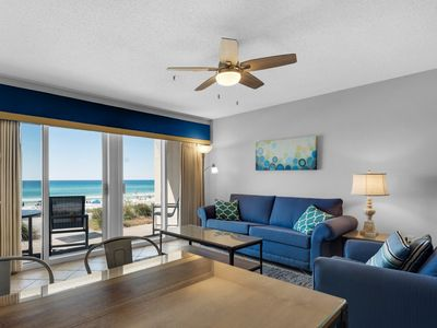 Photo for Stunning Condo With Gulf View! Grill, Pools, Beach Access, Nearby Shops & Restaurants!