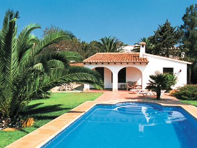 Photo for 2 bedroom Villa, sleeps 4 in Teulada with Pool and WiFi