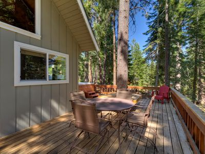 Adorable Cabin With Large Deck, Vau... - VRBO on